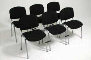 Konferansstol med klips