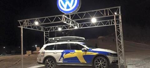 Volkswagen monter Bruksvallarna